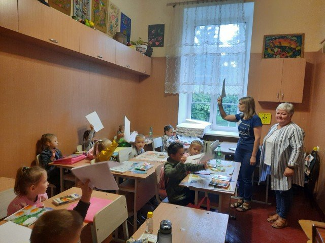 Сьогодні розпочалися заняття на відділі початкового естетичного виховання.