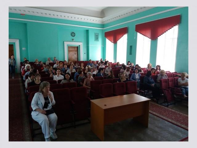 Проведення підсумкової педагогічної ради школи за 2020-2021р.