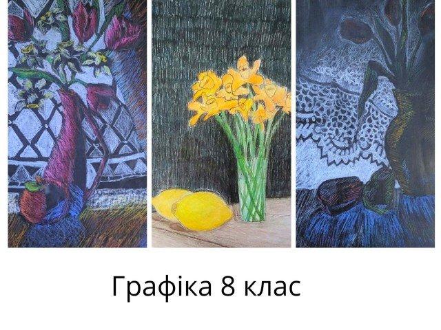 Колажі випускних робіт учнів 8 кл - Клочко Ольга В'ячеславівна