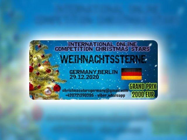 Міжнародний багатожанровий оn-line конкурс CHRISTMAS STARS