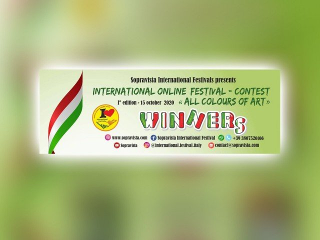 """International online festival-contest """"ALL COLORS OF ART"""""""